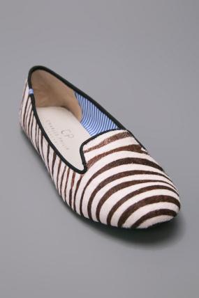 Charles Philip Zebra Smoking Shoe