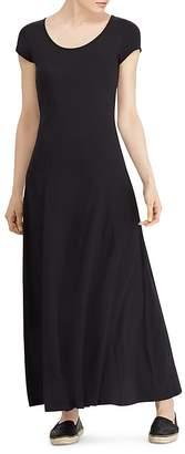 Lauren Ralph Lauren Scoop Neck Maxi Dress