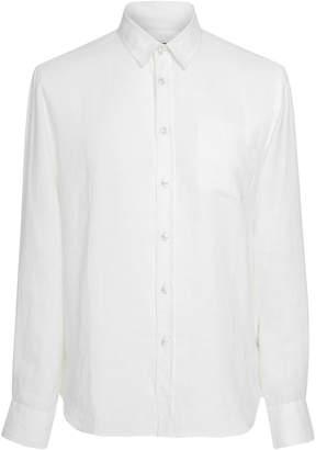 Vilebrequin Caroubis White Linen Shirt
