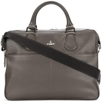 Vivienne Westwood orb detail briefcase