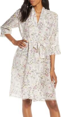 Papinelle Emmy Musk Cotton & Silk Short Robe
