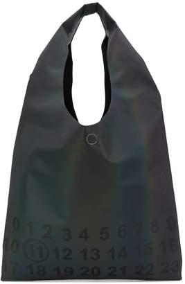 Maison Margiela logo-print ombré tote bag