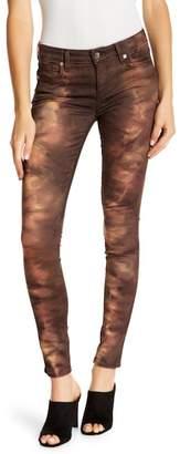 Genetic Los Angeles Elle Tie-Dye Print Skinny Jeans
