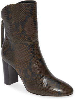 Charles David Billard Snake Embossed Boot