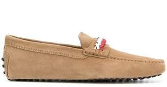 Tod's new gommini intreccio loafers