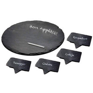 EPICUREANIST Epicureanist Slate 5-pc. Cheese Board Set