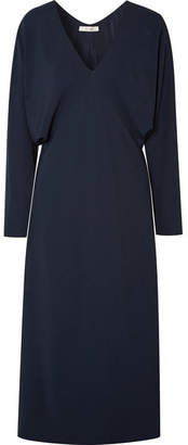 The Row Dan Cady Midi Dress - Navy