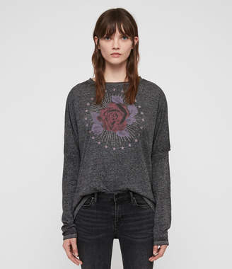 AllSaints Eden Wave T-Shirt