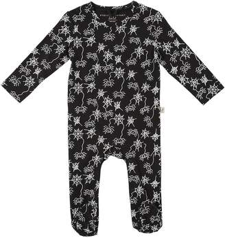 Stella McCartney Spider Print Cotton Interlock Romper