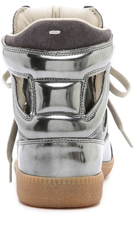 Maison Martin Margiela Cutout Mirrored Sneakers
