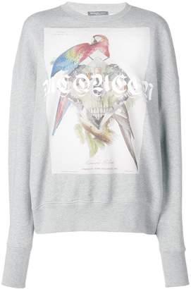 Alexander McQueen printed logo sweatshirt