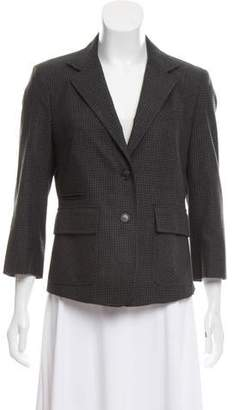 Boy By Band Of Outsiders Wool Patterned Blazer