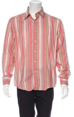 Dolce & Gabbana Button-Up Woven Shirt