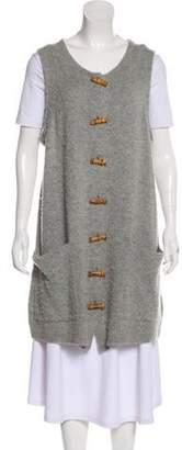 Acne Studios Distressed Longline Vest