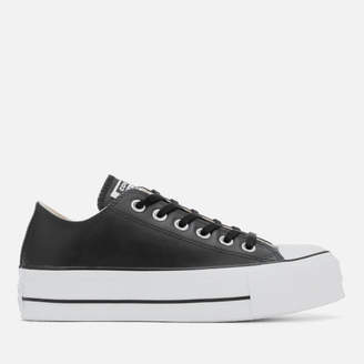 Converse Chuck Taylor All Star Lift Clean Ox Trainers