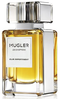Mugler 'Les Exceptions - Cuir Impertinent' Eau De Parfum Refillable Spray (Nordstrom Exclusive) $225 thestylecure.com