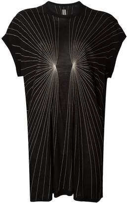 Rick Owens stitch detailed T-shirt