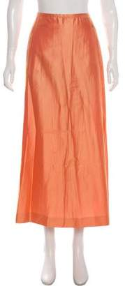 Chanel Silk-Blend Midi Skirt w/ Tags