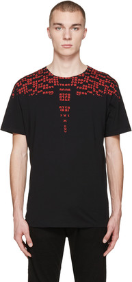 Marcelo Burlon County of Milan Black Rey T-Shirt $235 thestylecure.com