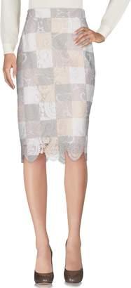 Sea Knee length skirts - Item 35333692