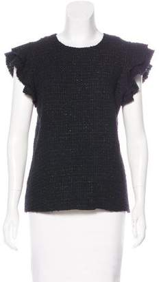 Chanel Wool Tweed Top