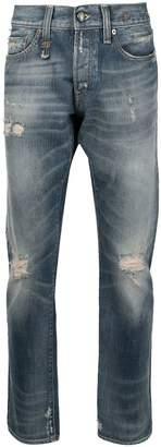 R 13 destroyed jeans