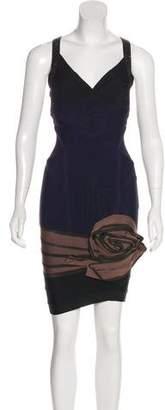 Herve Leger Bandage Sleeveless Dress
