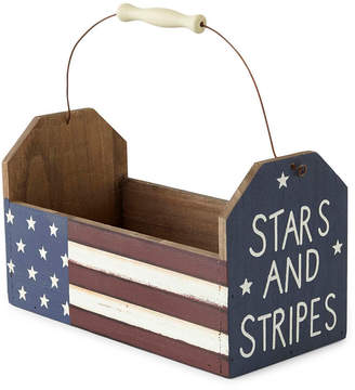 JCP HOME JCPenney HomeTM Americana Wood Caddy