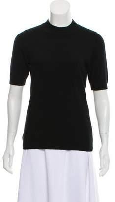 Diane von Furstenberg Cashmere Short Sleeve Sweater