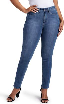 NYDJ Curves 360 by Slim Straight Leg Jeans