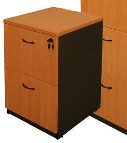 Logan Cooper Two-Door Filing Cabinet