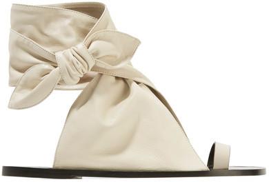 Isabel Marant - Maheo Leather Sandals - Ecru