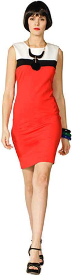 Trina Turk Colorblock Derain Dress