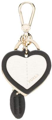 Furla Venus heart-shaped keyring