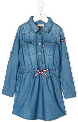 Levi's Kids denim shirt dress