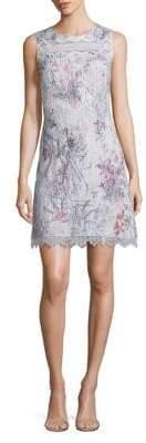 Elie Tahari Sklya Printed Dress