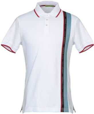 05b831be5 Versace White Men's Polos - ShopStyle