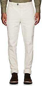 Brunello Cucinelli Men's Stretch-Cotton Classic Leisure Cargo Trousers - Sand