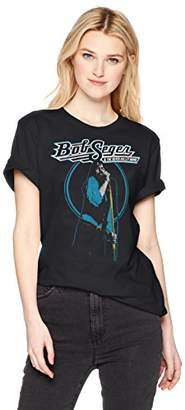 Silver Bullet FEA Merchandising Women's Bob Seger and The Band Juniors T-Shirt