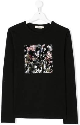 Andorine TEEN embellished long sleeve T-shirt
