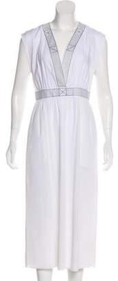 Hermes Linen-Blend Dress