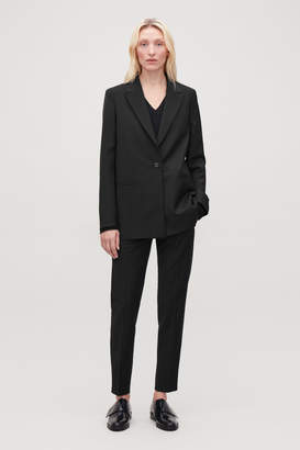 Cos SINGLE-BREASTED BLAZER WITH ZIPS