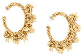 Sachin + Babi seedbead hoop earrings