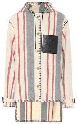 Loewe Striped wool jacket