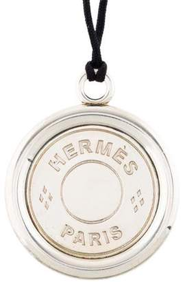 Hermes Clou de Selle Pendant Necklace