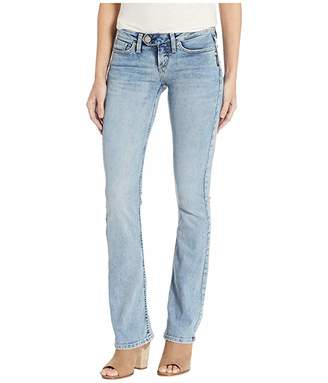 Silver Jeans Co. Tuesday Low Rise Slim Bootcut Jeans in Indigo L12602ASC275