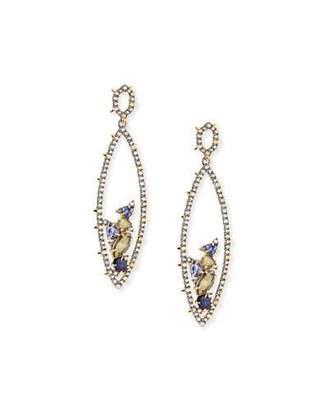 Alexis Bittar Crystal Spike Drop Earrings $255 thestylecure.com