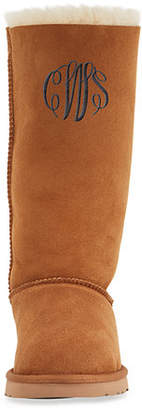 UGG Bailey Bow Tall Shearling Fur Boot $250 thestylecure.com