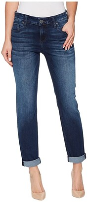 KUT from the Kloth Catherine Slouchy Boyfriend in Invigorated w/ Euro Base Wash