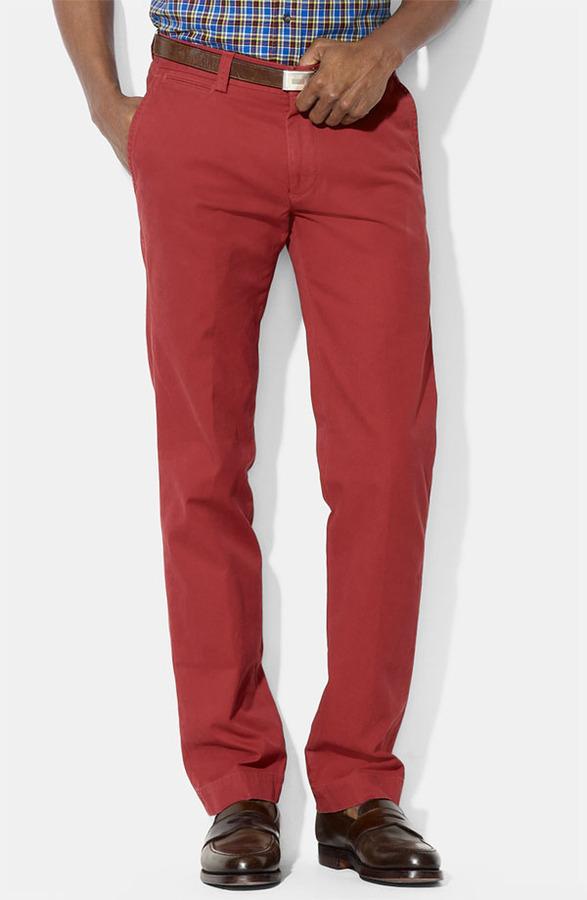 Polo Ralph Lauren 'Suffield' Straight Leg Pants